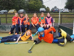 Sport: Girls Inaugural Covid Cup for Hockey